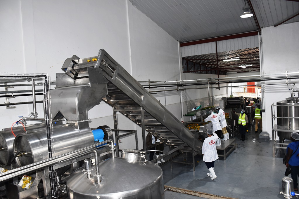 Technical commissioning of Yumbe Factory